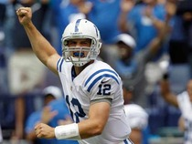 Watch: Drive of the week: Luck's debut