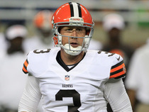 Watch: Weeden: 'I can't put any more pressure on myself'