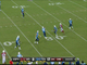Watch: Kevin Kolb throws his first interception vs. the Titans