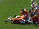 Watch: Broncos recover fumbled snap