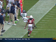Watch: Sherman's diving interception