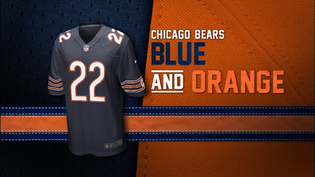 buy popular 75ce6 68294 Evolution of the Bears Colors - NFL Videos