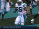 Watch: Tolbert 2-yard rushing TD
