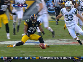 Video - Steelers recover muffed punt