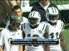 Has Santonio Holmes' attitude changed?