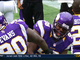 Watch: Vikings block Akers' kick
