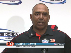 Video - Bengals postgame press conference