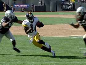 Video - Brown recovers own fumble to score