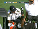 Watch: Heyward-Bey carted off field