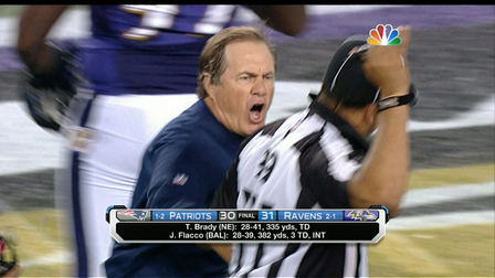 Controversy Surrounds Refs After Patriots Ravens Nfl Videos