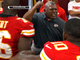 Watch: Kansas City Chiefs&#039; Romeo Crennel celebrates first win