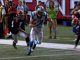 Video - Carolina Panthers tight end Greg Olsen 17-yard reception