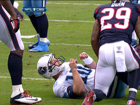 Video - Tennessee Titans quarterback Jake Locker injured