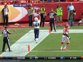 Video - San Diego Chargers quarterback Philip Rivers to Jackie Battle for 4-yd TD