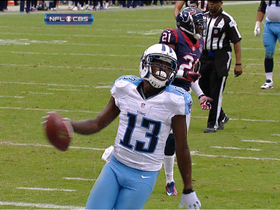 Video - Tennessee Titans wide receiver Kendall Wright 11-yard TD