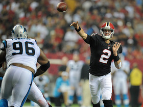 Video - Atlanta Falcons quarterback Matt Ryan's game-winning drive vs. Carolina Panthers