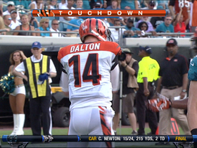 Video - Dalton QB sneak TD