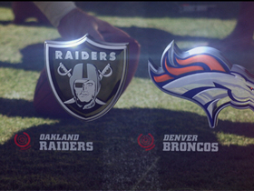 Video - Raiders vs. Broncos highlights