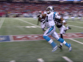 Video - Carolina Panthers quarterback Cam Newton 32-yard run