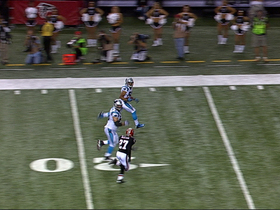 Video - Carolina Panthers quarterback Cam Newton to Kealoha Pilares for a 36-yard touchdown