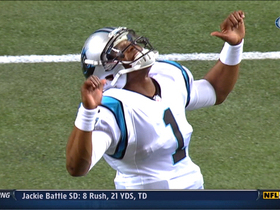 Video - Carolina Panthers' Cam Newton dances his way through pregame warm-ups