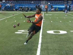 Watch: Krazy Hands at the combine