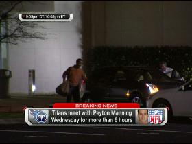 Video - Peyton has left the building
