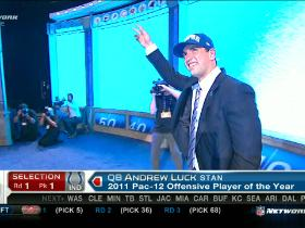 Video - Colts pick Andrew Luck No. 1