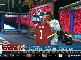 Video - Redskins pick Robert Griffin III No. 2