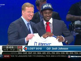 Video - Cowboys pick Morris Claiborne No. 6