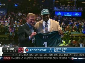 Video - Eagles pick Fletcher Cox No. 12