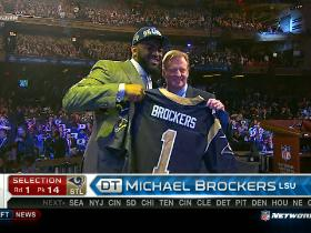 Video - Rams pick Michael Brockers  No. 14