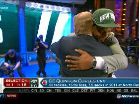 Video - Jets pick Quinton Coples No. 16