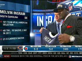 Video - Chargers pick Melvin Ingram No. 18