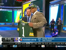 Video - Packers pick Nick Perry No. 28