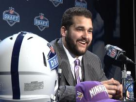Video - Kalil's wild draft night