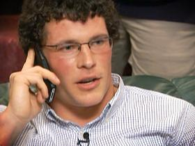 Video - Kuechly takes the call