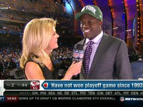 Video - Jets pick Stephen Hill No. 43