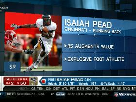 Video - Rams pick Isaiah Pead No. 50