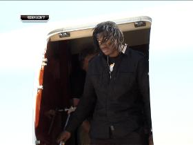 Video - RG3 travels to Washington