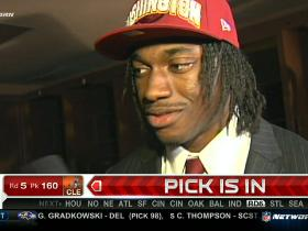 Video - RG3: It's all about right now