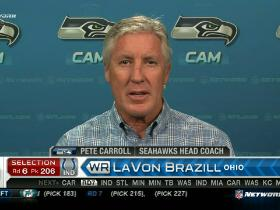 Video - Pete Carroll is fired up