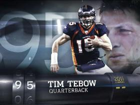 Video - Top 100 Players of 2012: Tim Tebow