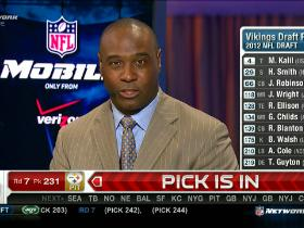 Video - 2012 NFL Draft grades:  NFC North