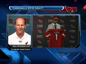 Video - Ken Whisenhunt talks draft