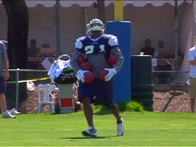 Watch: Hard Knocks: Pacman's punt-return skills