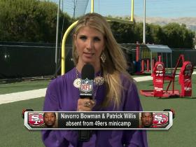 Watch: 49ers adjusting to being a target