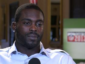 Video - Vick's message to rookies