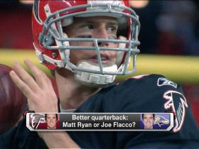 Video - Who's better: Matt Ryan or Joe Flacco?