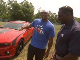 Watch: Fred Jackson shows off his ride